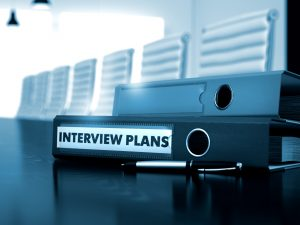 Interview Plans - Business Concept