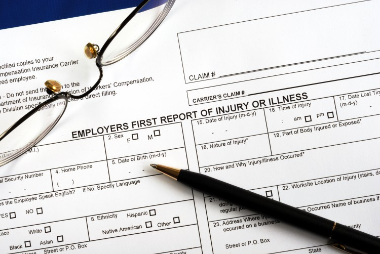 employers first report of injury or illness