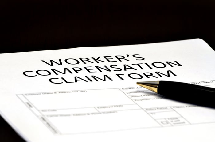 Work Compensation Claim form